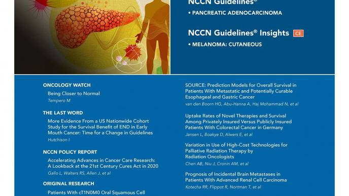 JNCCN Study: Important Potential Role for Routine Brain Imaging in Advanced Kidney Cancer