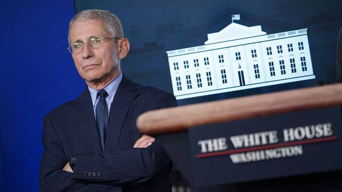 Dr. Anthony Fauci Warns US is 'Knee-Deep' in 1st Wave of COVID-19 Cases