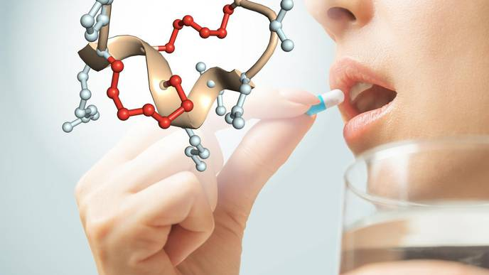 Peptides That Can Be Taken as a Pill