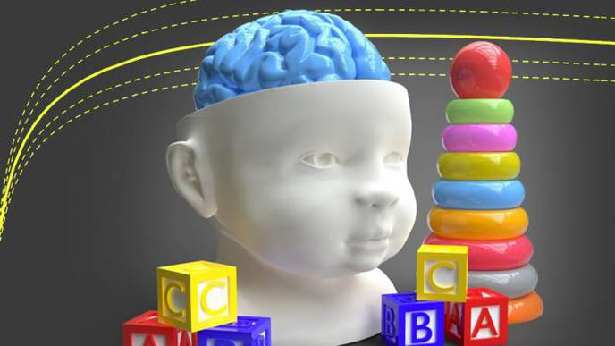 Normal Brain Growth Curves for Children Developed Childhood Brain Disorders, Infections & Injuries